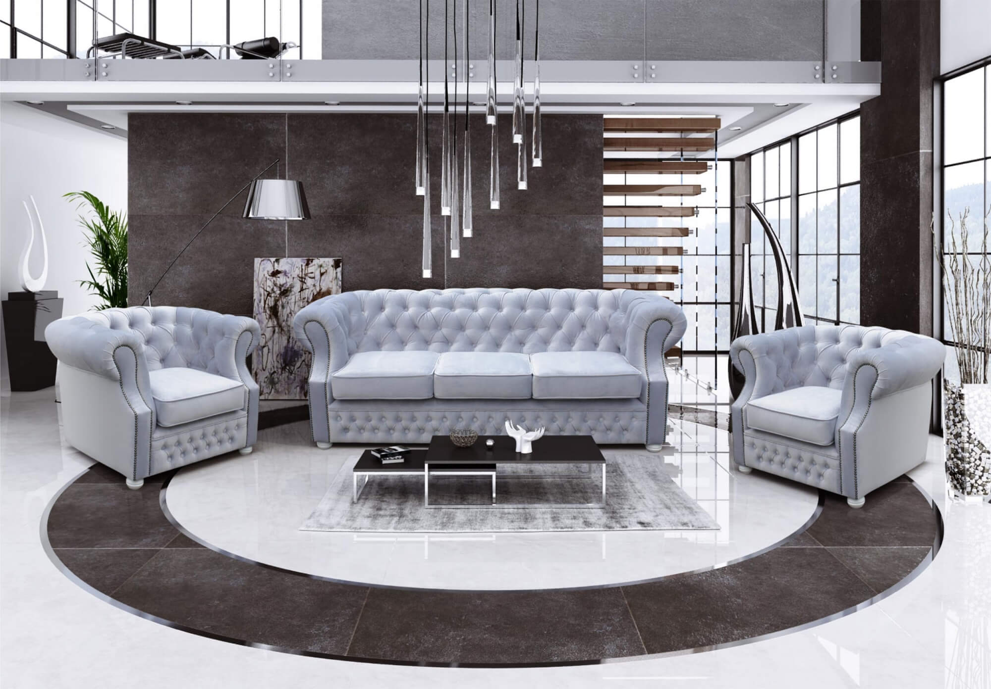 Chesterfield Lux Soffgrupp